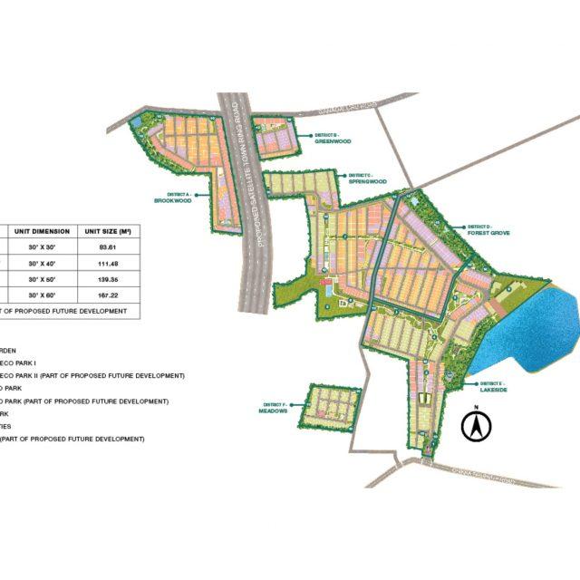 Godrej Woodland Master Plan
